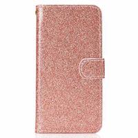 ل Redmi 5 Note 5A Bling Glitter Wallet حافظة جلد لاجهزة ايفون XR XS MAX X 10 8 7 S10 S10e