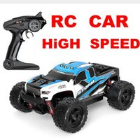 36km / h 55km / h HS 18301 1/18 2.4G 4WD Big Foot RC Speed ​​Car Auto ad alta velocità RC Racing Off-Road Vehicle Giocattoli VS a959-b a959