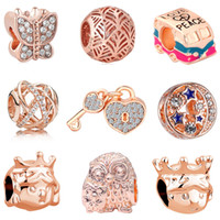2018 new free shipping european MOQ20pcs rose gold princess ...