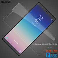 2PCS For Glass Galaxy A8 Star Screen Protector Tempered Glas...