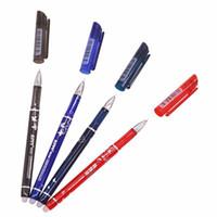 الجملة 12 قطع للمسح القلم هلام حبر القلم يمكن محوها أزرق أسود أحمر أزرق داكن هناك مطابقة الملء chancery papelaria