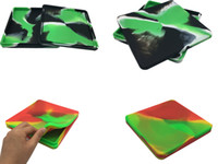 10 Dab Container 200 Ml Pizza Pan Aceite de silicona Contenedor de cocina Dab Wax Concentrate Frascos de almacenamiento