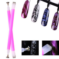 1pc Double Head Nail Art Cat Eye Gel Magnetic Rod Dual End T...