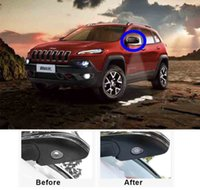 Car Rearview Mirror Laser Projector Logo Shadow Light Welcom...