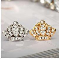 H: HYDE Gioielli alla moda Oro / Argento Colore spilla a forma di corona per un regalo di Natale all'ingrosso