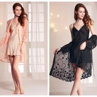 Ropa, Calzado Y Complementos Kimono Quimono Bata Pijama Sexy Con Encaje Floral Varios Colores Imitación Seda Great Varieties Pijamas Y Batas