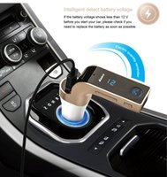 4-in-1 G7 Kulaklık USB Mp3 Kablosuz Araç Fm Transmitter Bluetooth Mini Fm Transmitter Araç Kiti Mp3 Player LCD Araç Aksesuarları
