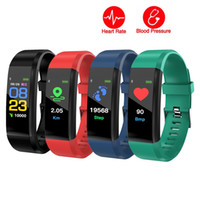 ID115 PLUS Pulsera inteligente de frecuencia cardíaca Bluetooth Smart Band 0.96