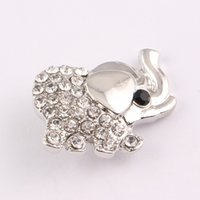 18mm noosa chunks lucky elephants Interchangeable snap butto...