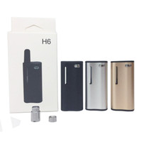 H6 Preheat 0. 5ml Ceramic Vape Cartridges 3 colors 350mah Var...
