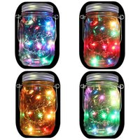 Solar Mason Jar Hanging Lights (Mason Jar & Hanger Included)...