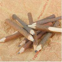 1/3 STÜCKE Holz Bleistift Zweig und Zweig Graphit Bleistift Handwerk Schreiben Werkzeug Zeichnung Malerei Stift Schule Schreibwaren Bürobedarf