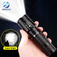 Powerful led flashlight 6000 lumens T6 led torch Waterproof ...