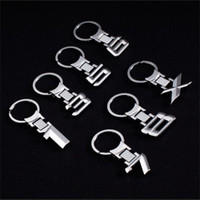 Anelli chiave in lega di zinco portachiavi portachiavi auto emblema portachiavi per BMW logo E30 E34 E36 E38 E39 E46 E60 x1 x3 x5