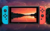 Nintendo 스위치 강화 유리 HD 방지 스크래치 화면 보호기 50pcs / lot