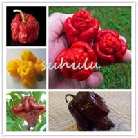 프로모션 !!! 200 PC 캐롤라이나 사신, 뜨거운 칠리 씨앗 고추 씨앗 매운 야채 semillas 달콤한 고추는 DIY 정원 식물을 먹을 수 있습니다