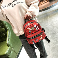Fashion Teenager Backpack Children School Bags Cartoon Ameri...