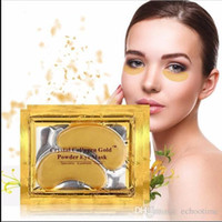 NEW Crystal Collagen Gold Powder Eye Mask Golden Mask stick ...