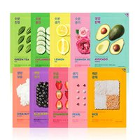 Holika Holika Pure Essence Mask Sheet 30pcs Real Mask Natura...