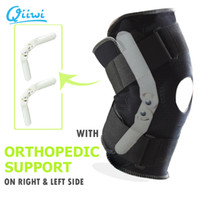 Rodilla de deportes profesionales de seguridad interior de soporte flexible Bisagra Brace rodilla Negro Pad Protector de la correa respirable cinta de Kinesio