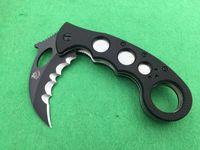 BIR süper aşk beyaz köpekbalığı kamp avcılık bıçak katlanır bıçak 1 adet ücretsiz kargo