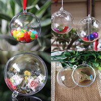 10pcs lot Clear Fillable Candy Box Christmas Bauble Xmas Tre...