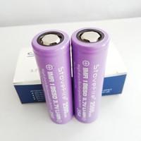 100% 5C Akku IMR 18650 Flachkopf 2500mAh 35A 3.7V Rechargable Lithium-Batterien., Kann für 60W E-Zigaretten verwendet werden, freies shippin