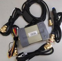 MB Star C3 Ferramenta de diagnóstico com cabos completos com o multiplexador RS232 e OBD II Cabo de 16 pinos para carros DHL frete grátis