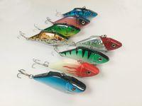 Lot 16 Fishing 미끼 Lure Fishing 미끼 Crankbait 낚시 Vib 태클 곤충 후크베이스 10.7g / 7.5cm