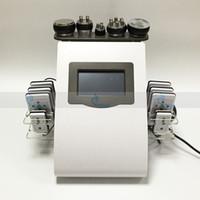 뜨거운 판매 40K 초음파 지방 흡입 캐비테이션 8 패드 Lipo 레이저 바디 컨투어 슬리밍 RF 스킨 케어 얼굴 리프팅 홈 살롱 스파 머신