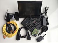 أداة تشخيص السيارات OBD2 Code Scanner WiFi ICOM Next for BMW V06.2021 Soft-Ware Expert Mode 1TB HDD مستعملة الكمبيوتر المحمول X200T 4G