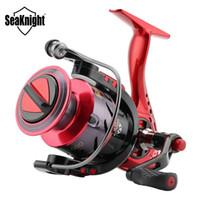 SeaKnight New PUCK 2000 3000 4000 5000 Moulinet Spinning 5.2: 1 Moulinet pour la pêche 9KG Puissance de traînée Max Roue longue Lancer C18110601