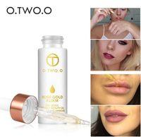 O.TWO.O 24k Rose Gold Elixir Skin Make Up Oil للوجه الضروري النفط قبل الأساس التمهيدي ترطيب الوجه النفط مكافحة الشيخوخة