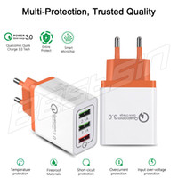 3 Port Quick Charger QC 3. 0 USB Charger Voor iphone X iPad S...