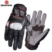 SCOYCO Motorcycle Glove Breathable Motocross Reflective At N...