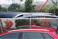 Hohe qualität 1,3 mt Aluminium Dachreling Gepäckträger Korb Ladungsträger Box Für Auto