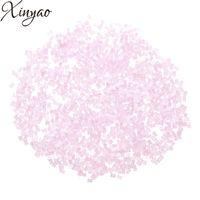 Xinyao 2018 Nya 3600pcs 8 färger glas tjeckiska fröpärlor 1,8mm kolonn spacer kristall pärlor för DIY smycken gör Perles berloque