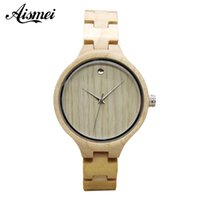 2018 Fashion Women' s Wood Watches Top Brand Designer En...