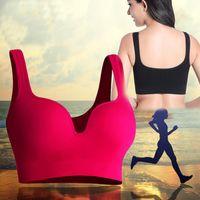 ef5a06ade Feminino Verão 3D Sutiã Esportivo de Fitness Profissional Yoga No Anel de  Aço Anel de Sono Sutiã Esportivo Push Up Colete À Prova de Choque