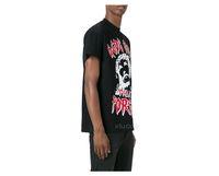GCDS футболка мужчины Италия чистый хлопок дышащий короткими рукавами полоса мода скейтборд хип-хоп причинной Бог не может уничтожить уличной