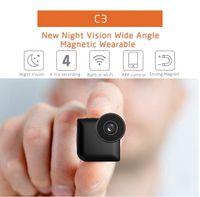 C3 Sport Mini caméra Wifi P2P IP Caméra HD 720P Night Vision enregistrement vidéo Micro Camara DV DVR détection de mouvement