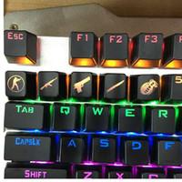 Siancs DIY CS GİTME KeyCaps Mekanik Klavye Düğmesi CSGO Anahtar Kapaklar Oyunu KeyCap Oyun Aksesuarları Mercy ABS Cap