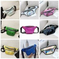 1738c266a4b99 9styles Girls laser Waist bag Beach Travel Pack Fanny pack handbag Girls  Belt Purse Outdoor Holographic Cosmetic Bags FFA929 60pcs
