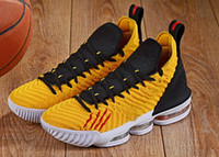 New Men' s XVI 16 Bruce LEE Basketball Shoes 16S Triple ...