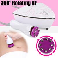 Novo tipo de pele RF rotação de 360 graus apertar Radio Frequency massagem Anti-idade mini-equipamentos rf uso doméstico