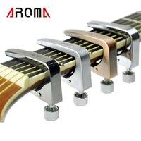 ماركا نويفو أروما AC-11 Guitar Capo Aleación De Zinc para Las Guitarras Eléctricas Acústicas 4 Colores Partes de Guitarra y Accesorios