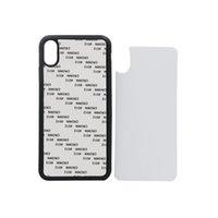 60 unids venta al por mayor 2D en blanco Heat Printing Shell del teléfono móvil para iPhone XS XR XS MAX suave TPU duro PC caja del teléfono celular