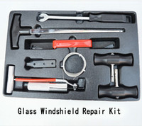 Комплект для ремонта ветрового стекла автомобиля Professional DIY Tools Auto Стекло Ветровое стекло Окона Ремонт инструментов Установите автомобиль-детектор