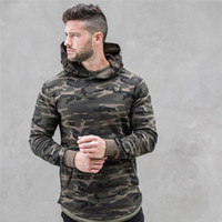 Hot spring autumn new Mens Camouflage Hoodies Fashion leisur...