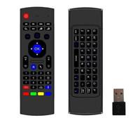 MX3 2.4GHz Wireless Tastatur AIR MOUSE Remote Controller Somatosensorisches IR-Lernen 6-Achse für MX3 MXQ M8S S905 STB Android TV-Box